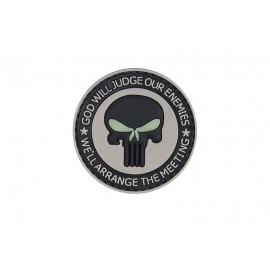 Patch PVC God will judge our enemies
