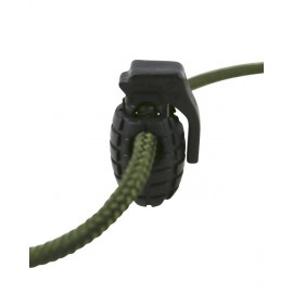 Grenade Cord Stoppers - Black